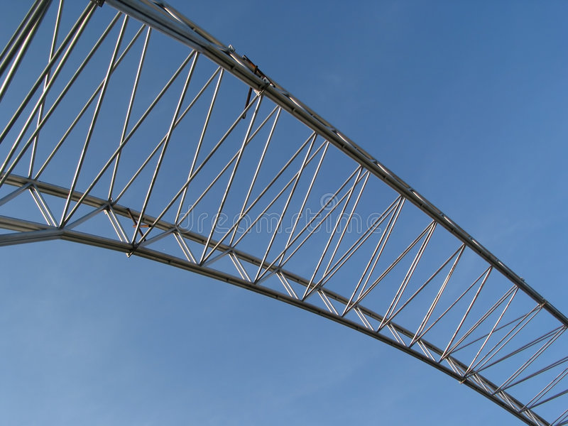 Download Metal arch stock image. Image of architecture, framing - 801447