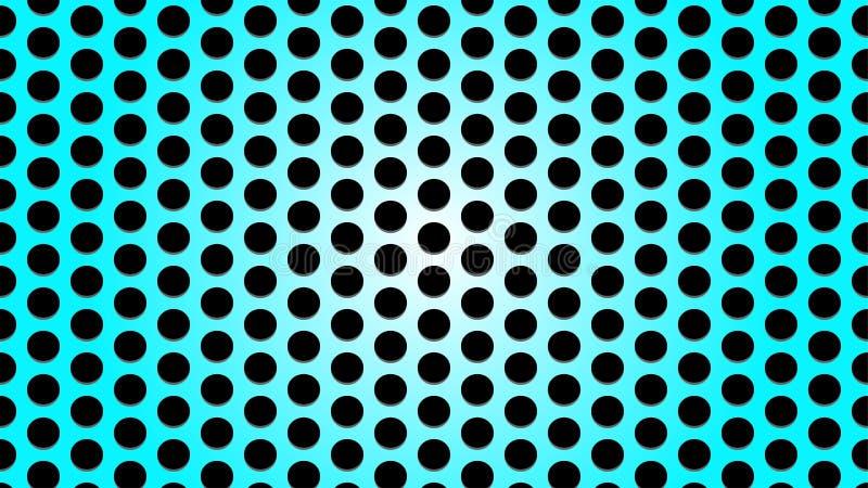 Metal azul brilhante Mesh Texture Background ilustração royalty free