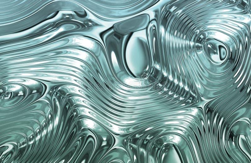 metal błękitny ciekła tekstura ilustracji