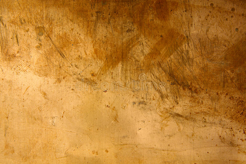 Metal. Background from bronze sheet royalty free stock photos