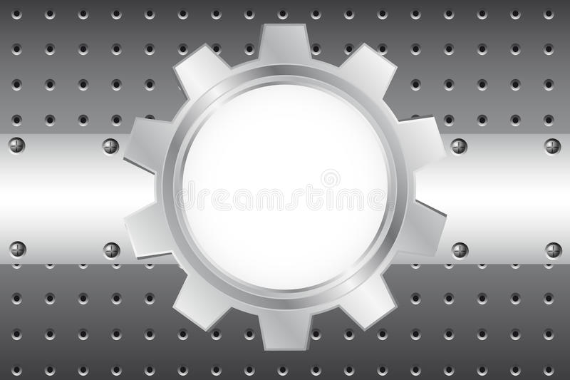 Download Metal Background With Cogwheel Stock Photography - Image: 18853712