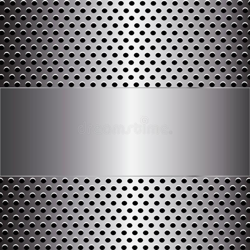 Metal background. Is a general illustration vector illustration