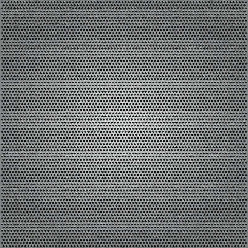 Download Metal Background With Holes Stock Vector - Image: 25033437