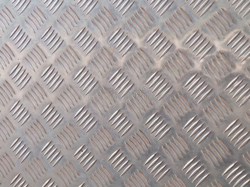 Metal background, steel floor for background . stock image
