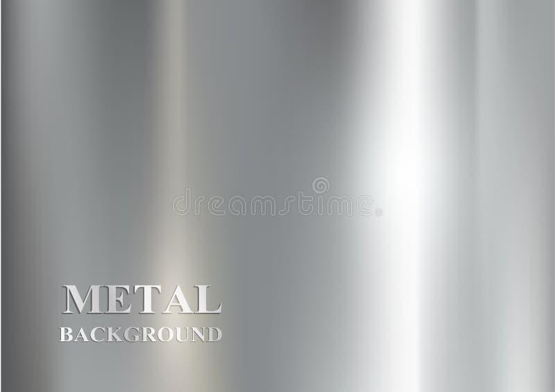 Metal background vector illustration