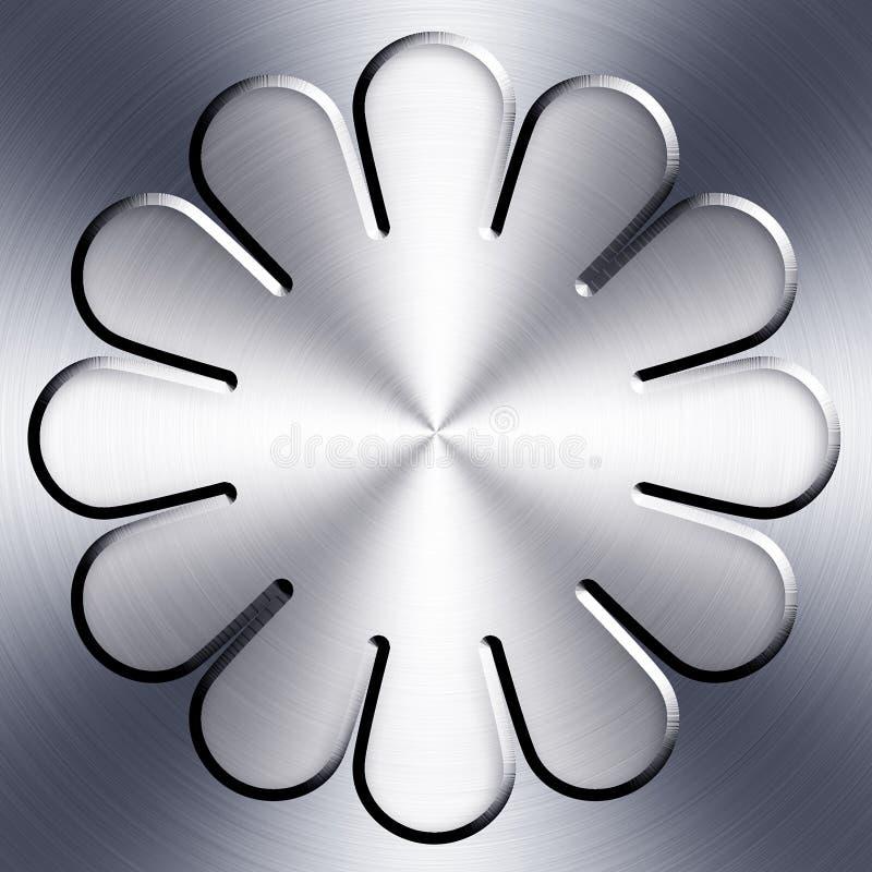 Download Metal badge design stock illustration. Illustration of badge - 14569603
