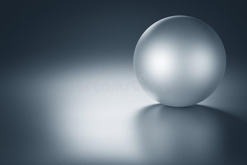 Metal Ball stock illustration