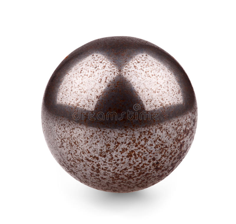 Metal ball royalty free stock image