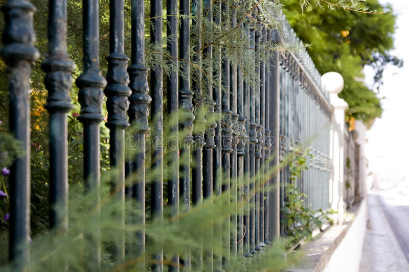 Download Metal bar fence stock image. Image of home, protection - 12386067