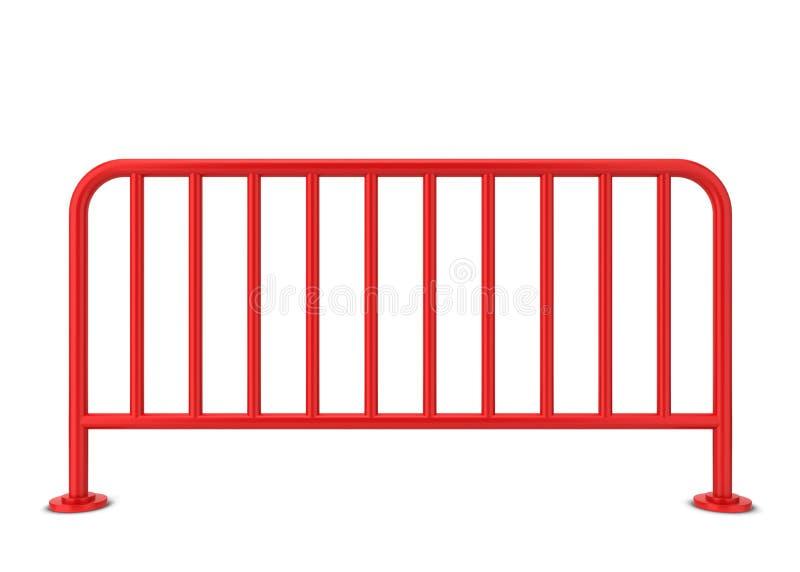 Metal bariera ilustracji