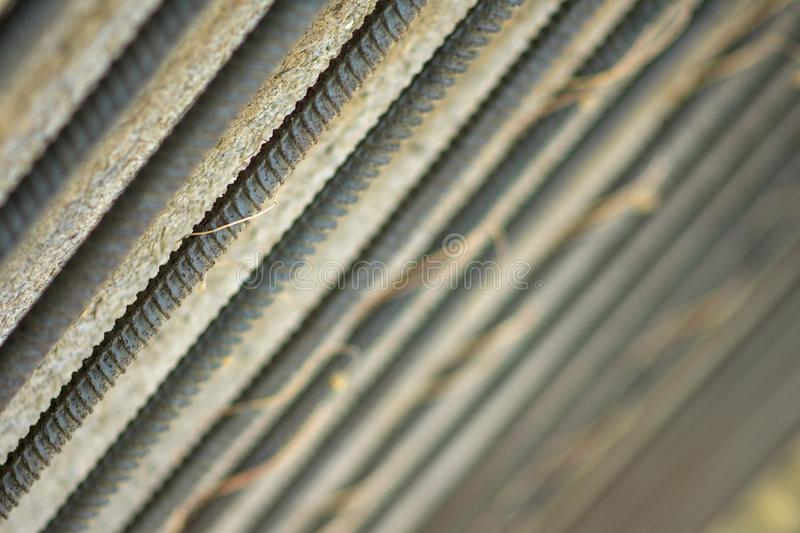 Metal bars background or texture. Metal bars bokeh background or texture. wallpaper steel bars stock photography