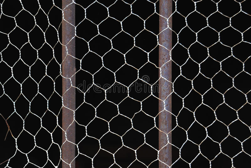 Download Metal bars and net stock image. Image of iron, abstract - 18154117