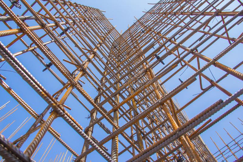 Armature against the blue sky. royalty free stock photos