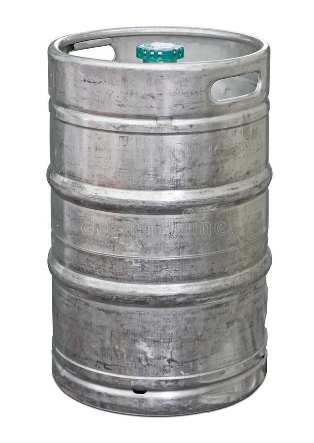 Free Metal Beer Keg Royalty Free Stock Images - 16384369