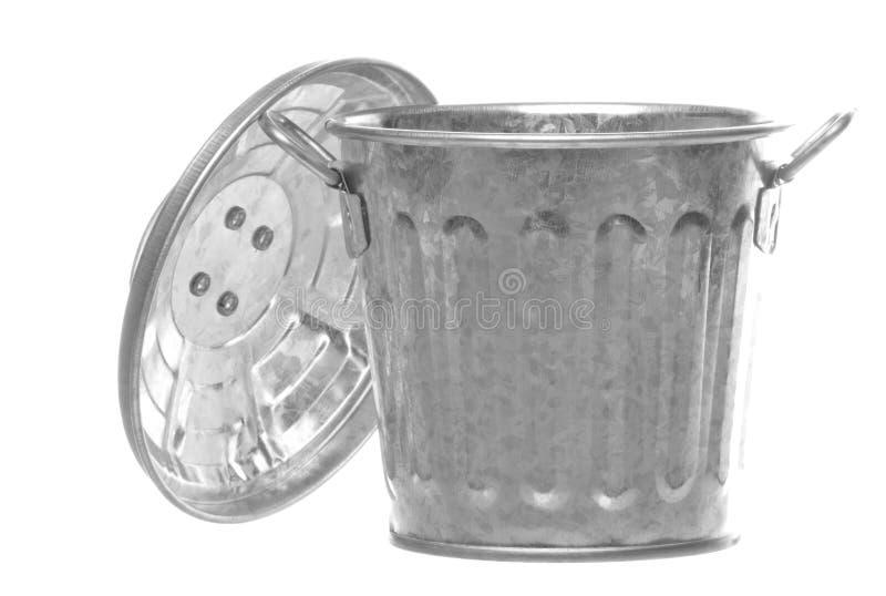 Download Metal Bin Isolated stock photo. Image of bins, utensil - 12052006