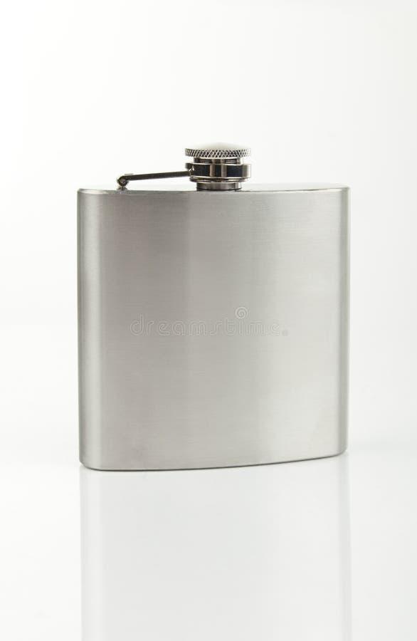 Free Metal Bottle For Brandy Royalty Free Stock Photo - 45246505