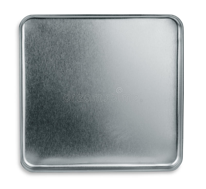 Metal box royalty free stock image