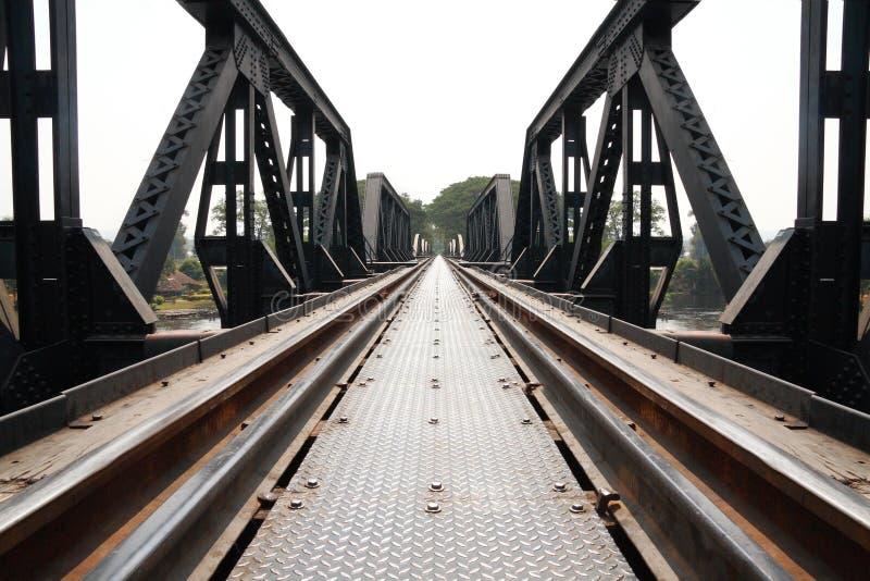 metal bridżowa kolej zdjęcia stock