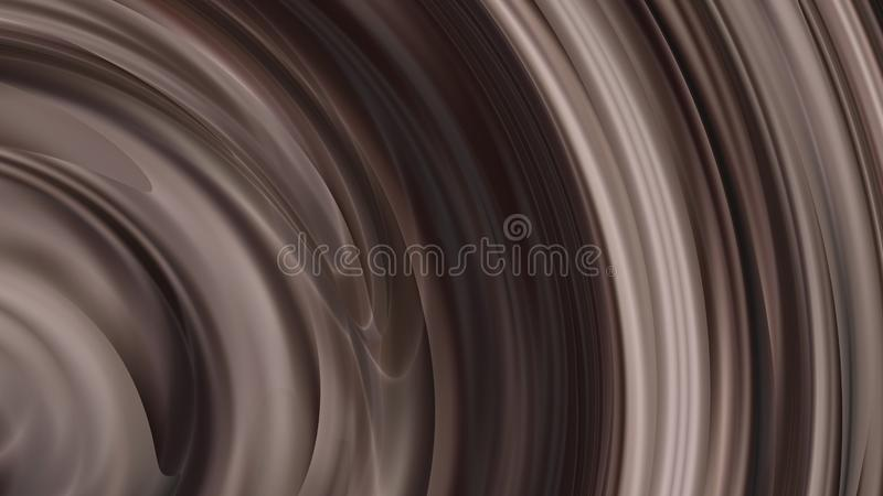 Metal Brown Synthetic Rubber Background Beautiful elegant Illustration graphic art design Background. Image royalty free illustration