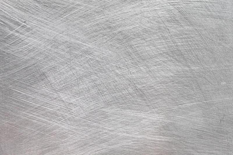 Metal Brushed Texture Silver Industrial ,Brushed Aluminum High Resolution Background stock image
