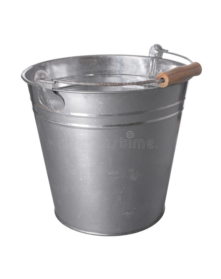 Free Metal Bucket Royalty Free Stock Image - 14799206