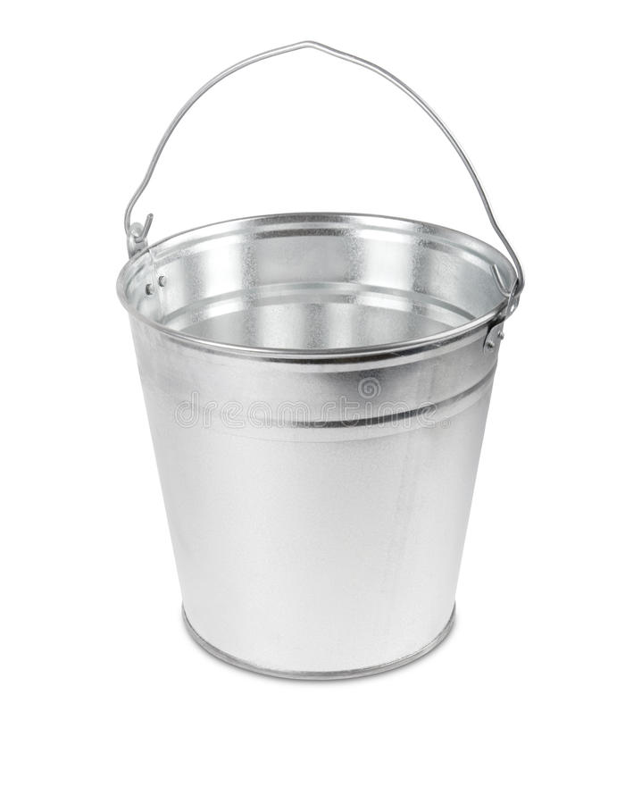 Free Metal Bucket Stock Photo - 16764380