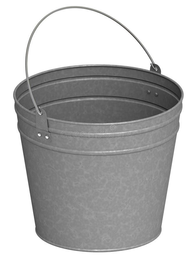 Download Metal bucket stock illustration. Illustration of artifact - 18996373