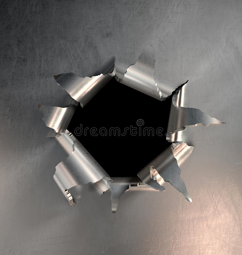 Free Metal Burst Royalty Free Stock Photos - 14395248
