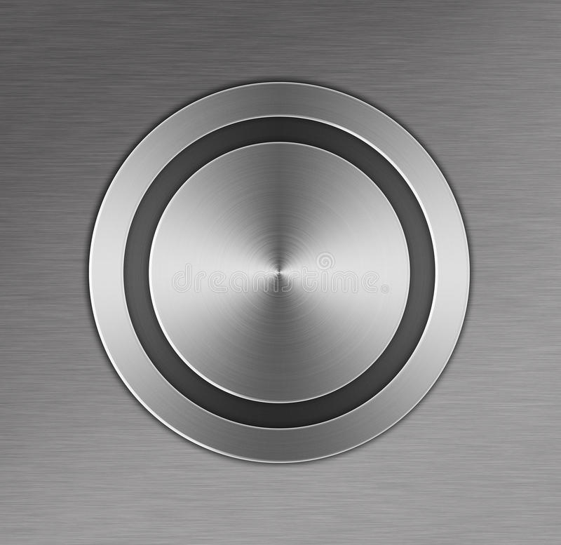 Download Metal Button Stock Photo - Image: 28692230