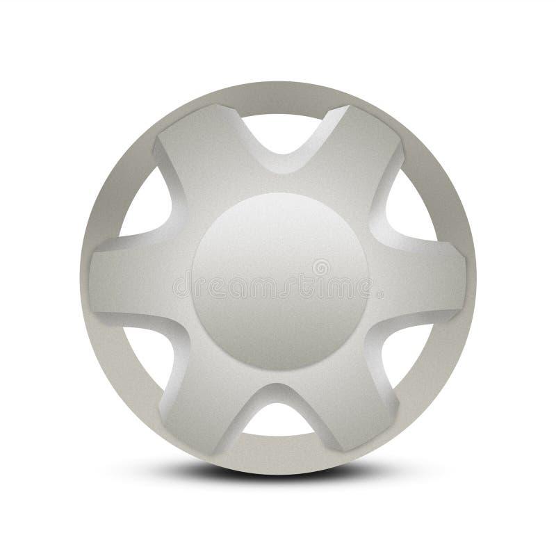 Free Metal Car Hubcap Or Wheel Trim Royalty Free Stock Photo - 7899205