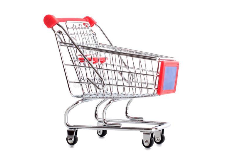 Metal cart three royalty free stock image