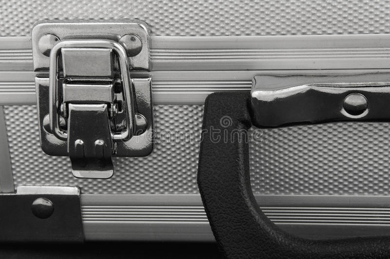 Metal Case. Close Up Royalty Free Stock Images