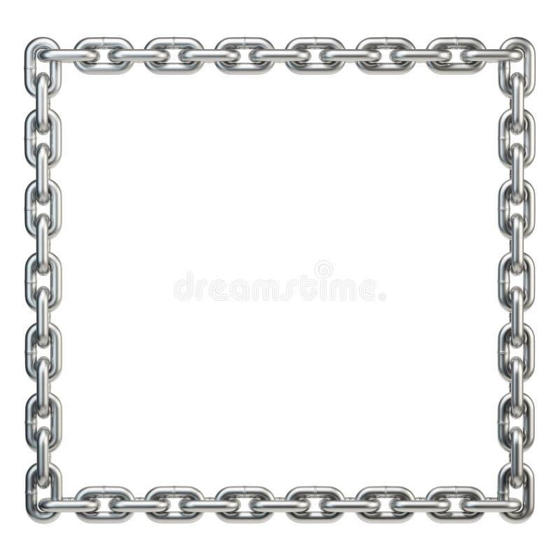 Free Metal Chain Frame Royalty Free Stock Photos - 45123518