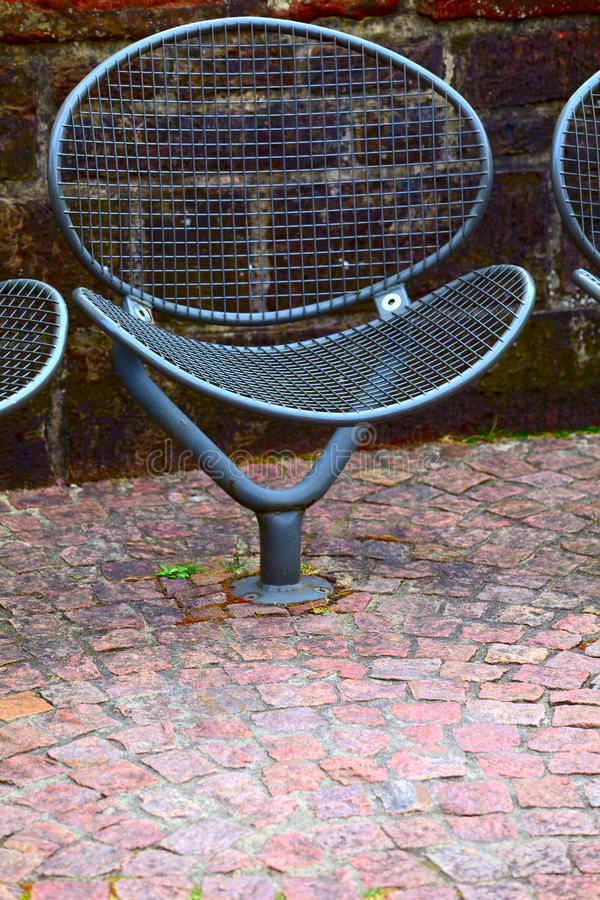 Metal Chair Stock Image