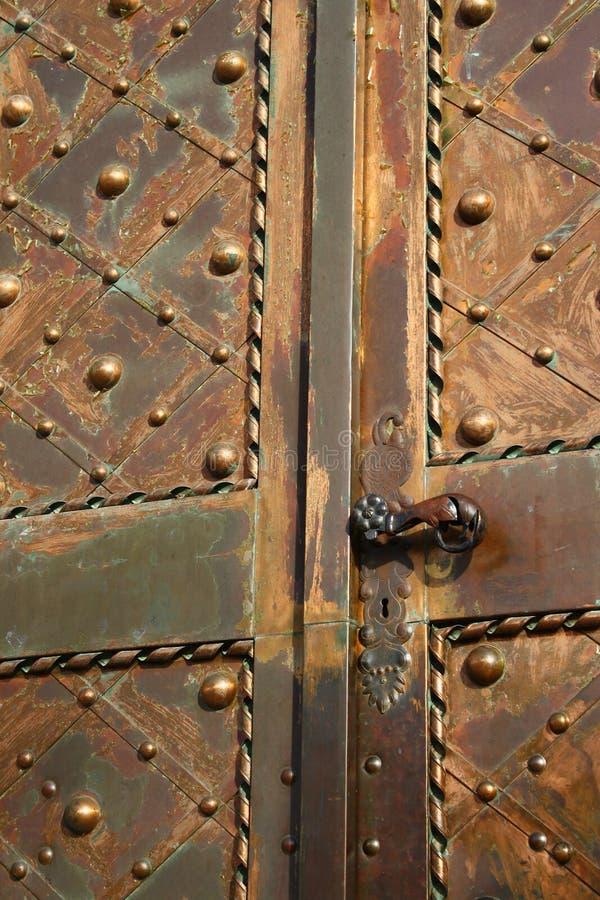 Download Metal church door stock image. Image of enter, emboss - 11816211
