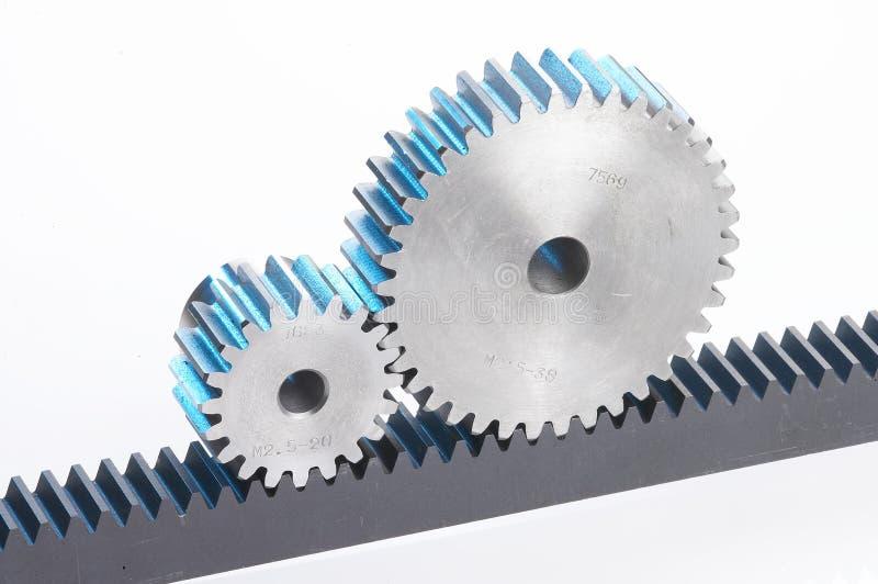 Metal cog-wheels royalty free stock image