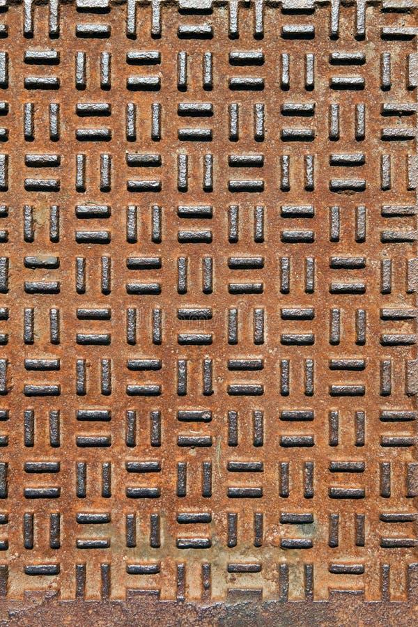 Metal colidido oxidado fotos de stock royalty free