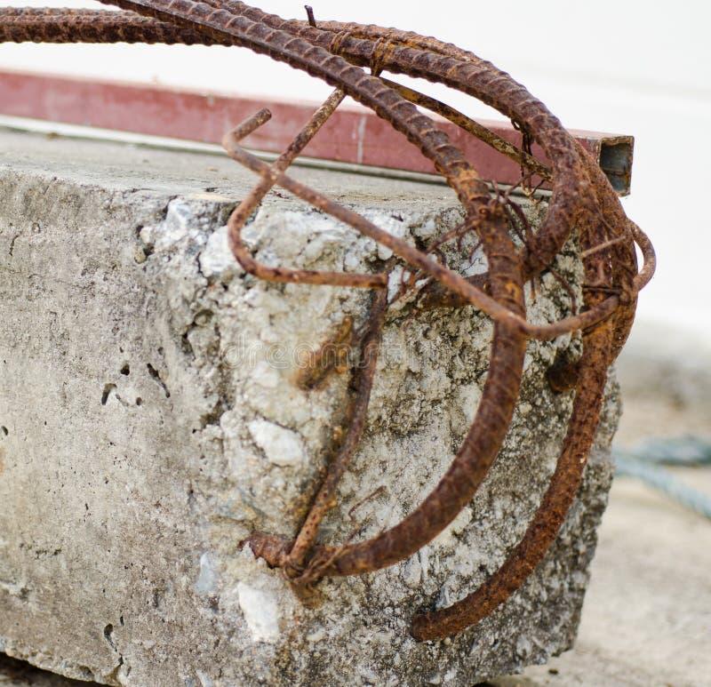 Metal concreto fotos de archivo