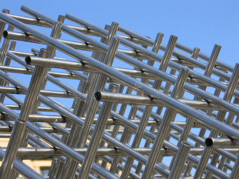 Download Metal Construction stock image. Image of tube, construct - 20999