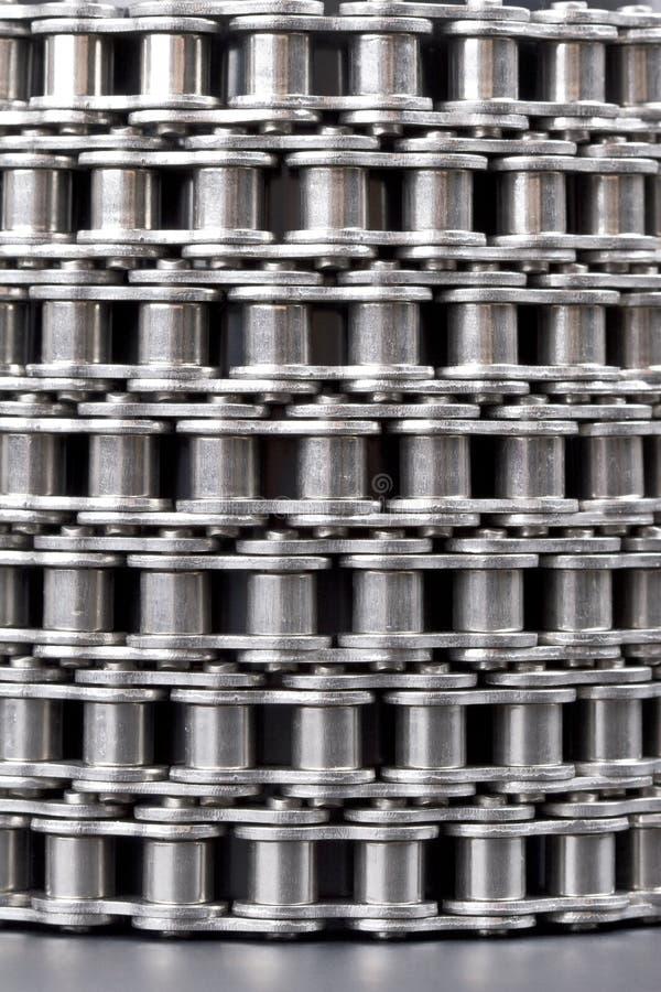 Metal a corrente de ligação imagem de stock royalty free