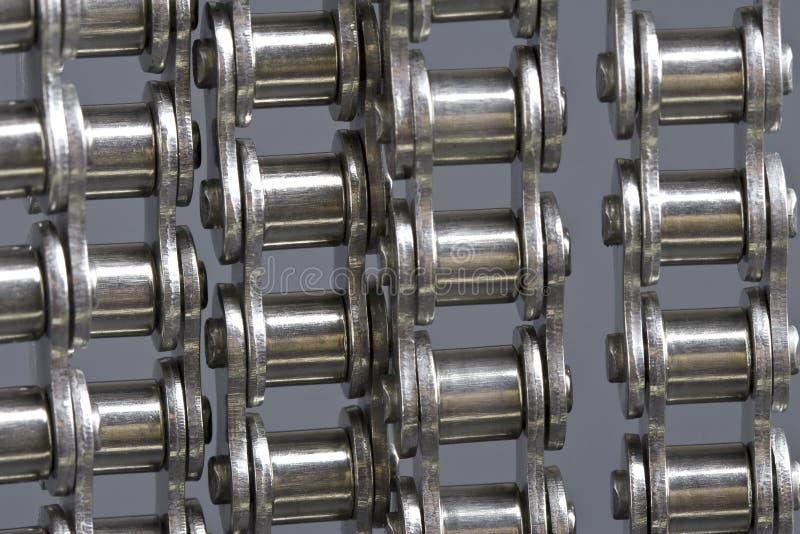 Metal correntes de ligação foto de stock