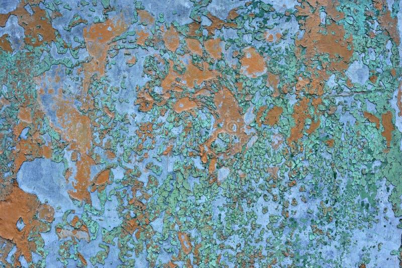 Metal corroído aherrumbrado viejo marrón anaranjado u hoja de acero fotografía de archivo