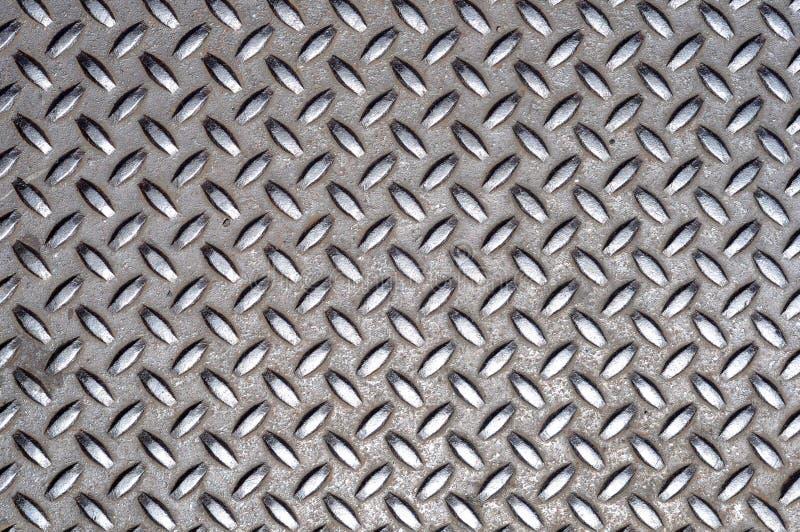 Metal Cross Grid Texture Stock Images