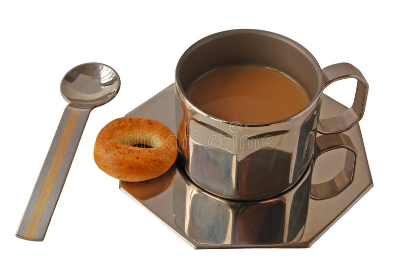 Download Metal Cup Of Coffe Stock Photography - Image: 2308122