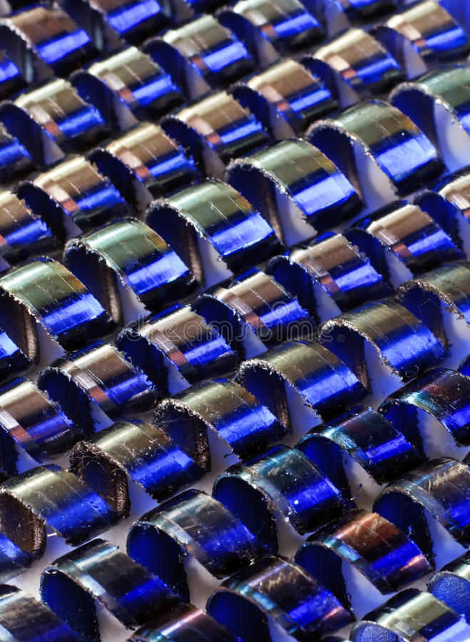 Download Metal cuttings stock photo. Image of sharp, curly, background - 11055090