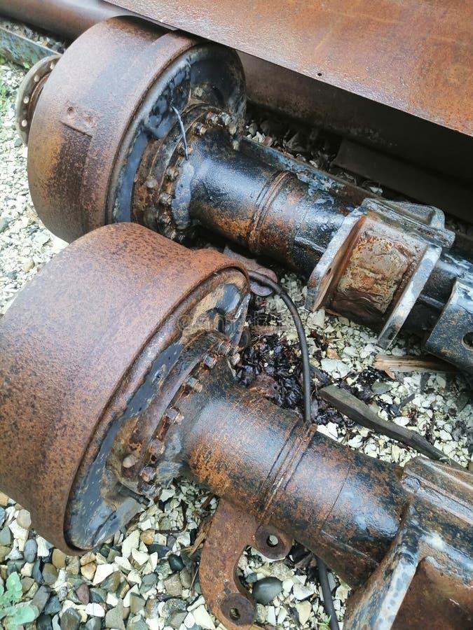 Metal części od samochodu obrazy stock