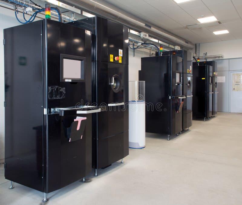 Metal 3D printers (EBM) stock image