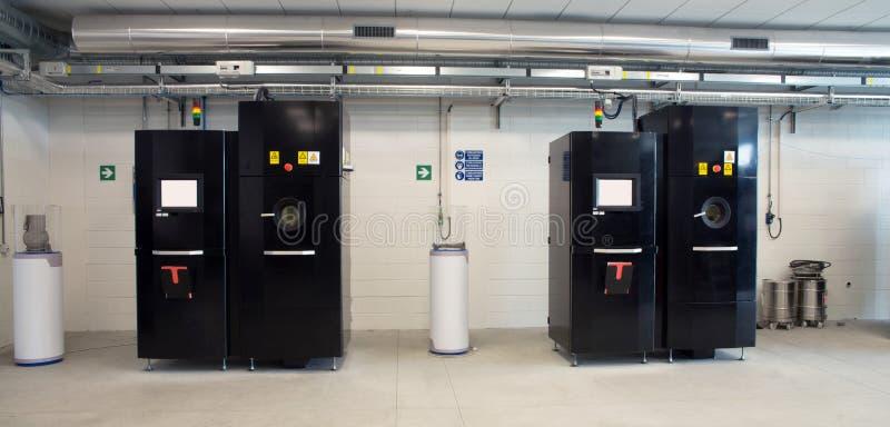 Metal 3D printers (EBM) stock images