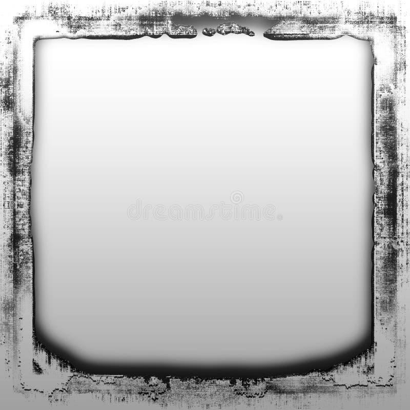 Metal da beira de Grunge ilustração do vetor