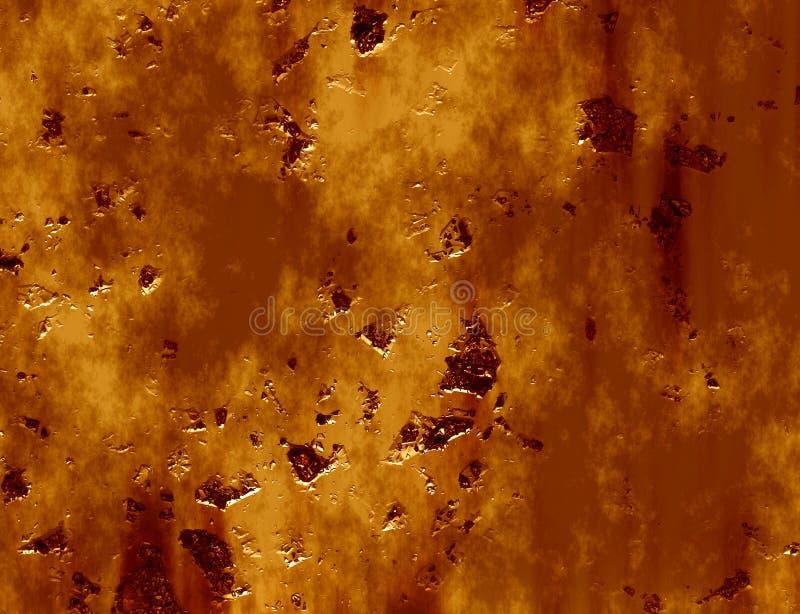 Metal da oxidação ilustração royalty free